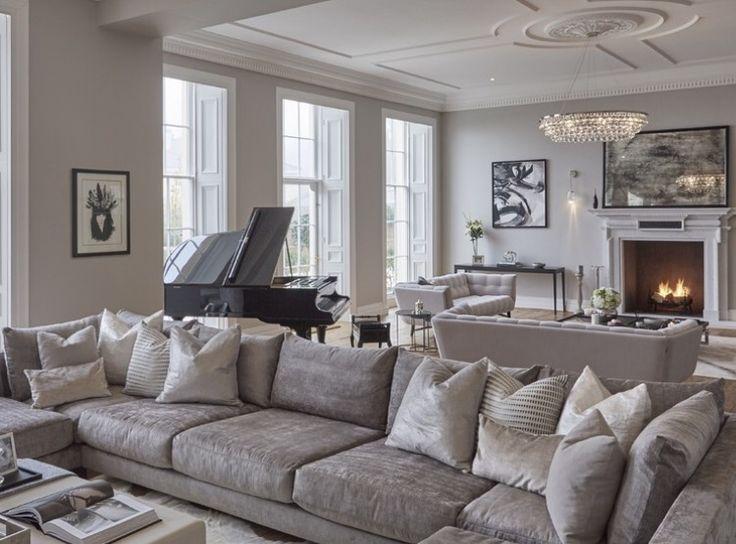 music room with salon beige et rose. Black Bedroom Furniture Sets. Home Design Ideas