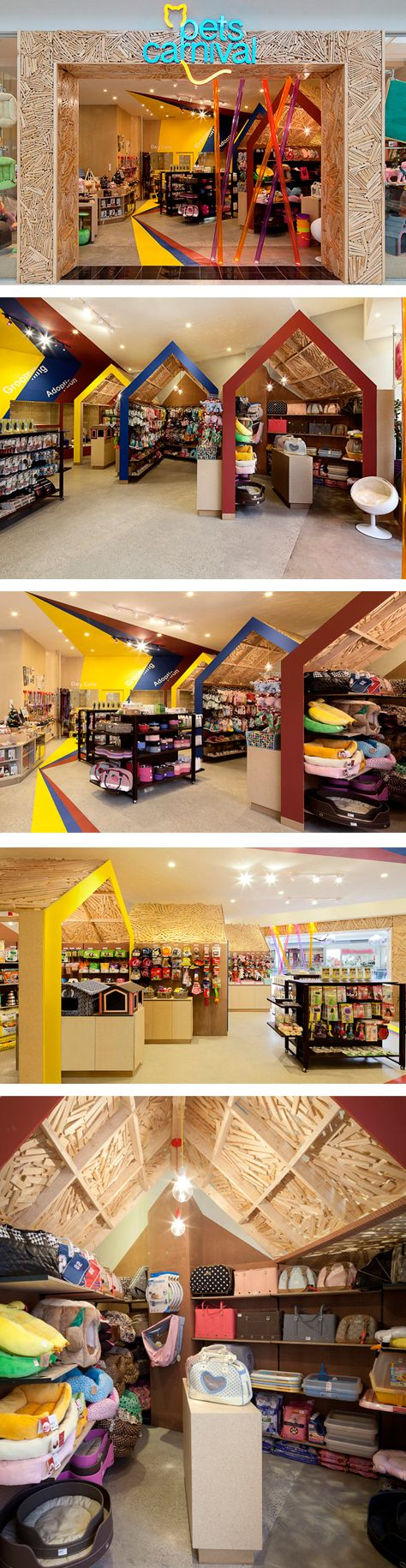 Pets Carnival store by rptecture architects, Melbourne – Australia.
