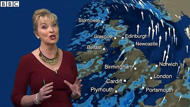 nice No Sanction for BBC's Carol Kirkwood Over 'Cold as F*ck' Weather Forecast