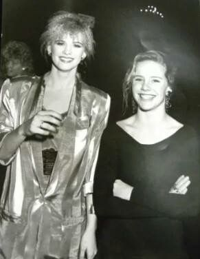 Amanda Peterson and Kristy Swanson Youth in Film Awards December 5, 1987.