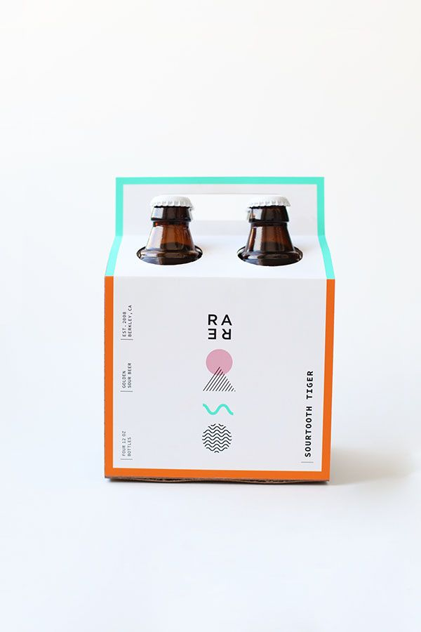 Rare Barrel - A Sour Beer Co. on Packaging Design Served