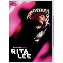 DVD Rita Lee: Multishow - Ao Vivo
