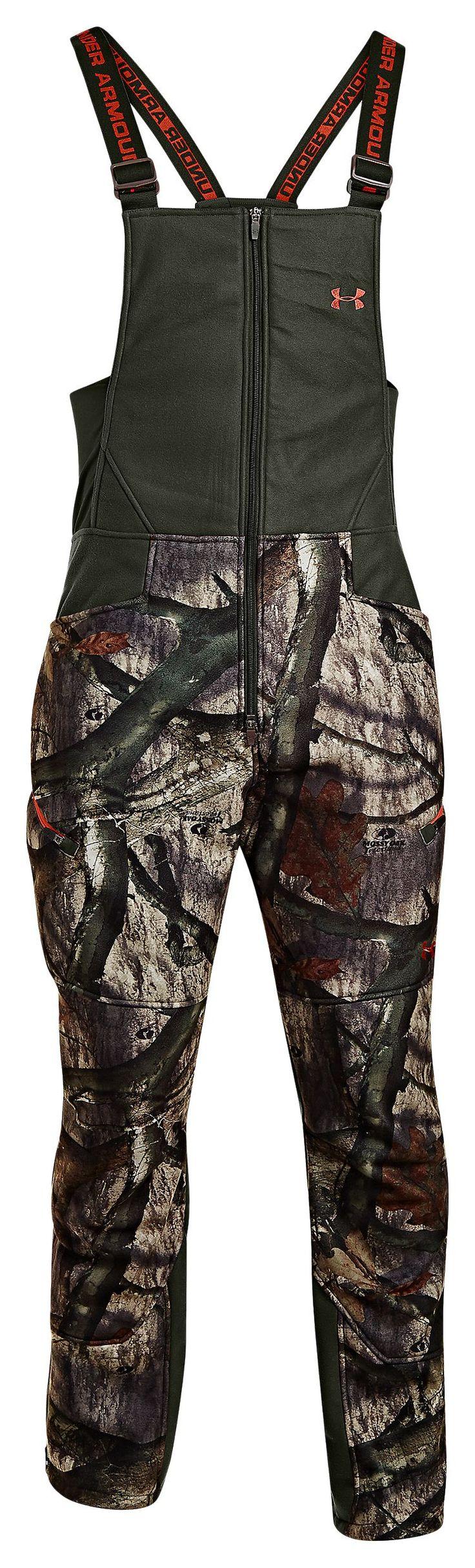 Under Armour® ColdGear® Ayton Camo Bibs for Men | Bass Pro Shops. Size Large