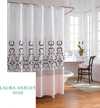 Laura Ashley U0027Yardleyu0027 72 Inch Shower Curtain   Contemporary   Shower  Curtains