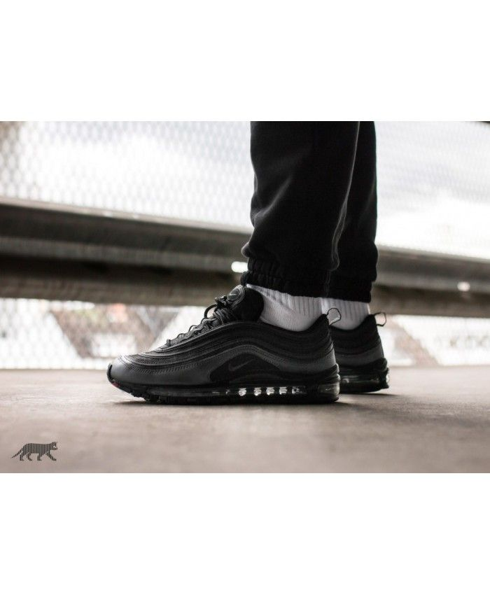 buy popular 9502b 6dc8f Nike Air Max 97 Black Anthracite Metallic Hematite Dark Grey UK Shoes