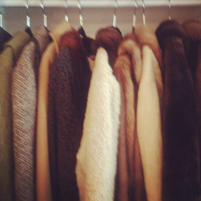 keep toasty in our range of winter coats - fur, denim, leather, wool, etc!