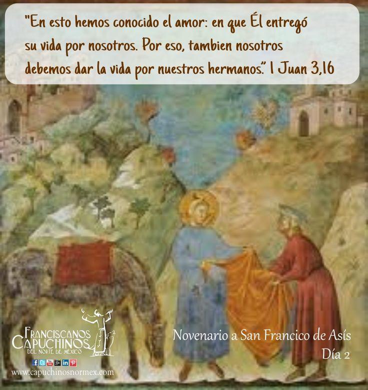26 de Septiembre. Segundo día del novenario de San Francisco de Asís. Encuentra el novenario completo en http://www.pazybien.es/novena-a-san-francisco-dia-2-amor-por-los-pobres/