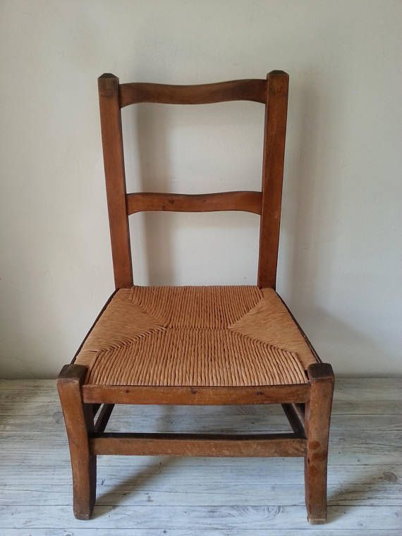 Classical Little French Farmers Chair Vintage Childrenu0027s