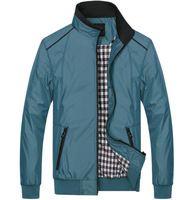 Mens chaquetas y abrigos 2015 otoño del resorte más tamaño nueva moda casual para hombre cuello de la chaqueta cazadora chaqueta prendas de vestir exteriores