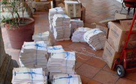 Entrega Contraloría Municipal documentación de auditoría a Dirección de Contabilidad Gubernamental