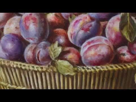 Как добиться «сливового» цвета, не смешивая краски на палитре - Ярмарка Мастеров - ручная работа, handmade