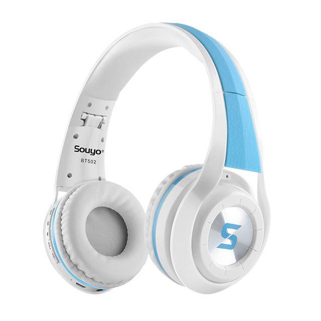 New Stereo Handsfree Headfone Casque Audio Bluetooth Headset Earphone Wireless Bass Headphone for Computer PC Aux Smartphone
