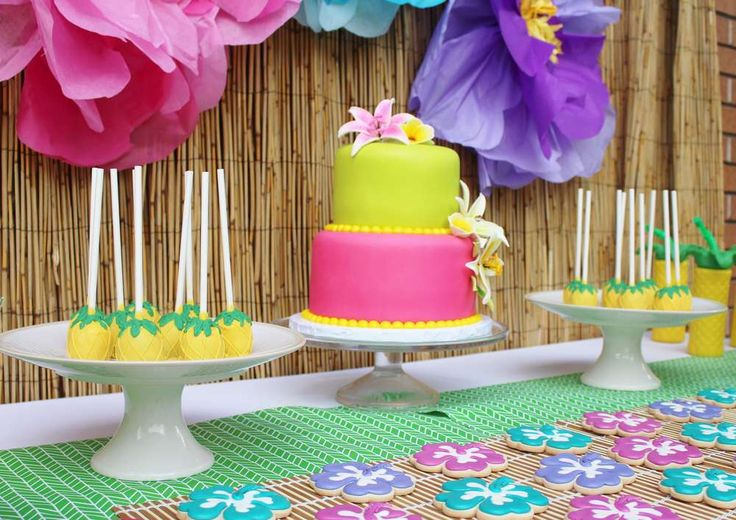 Hawaii Birthday Party Ideas | Photo 1 of 27