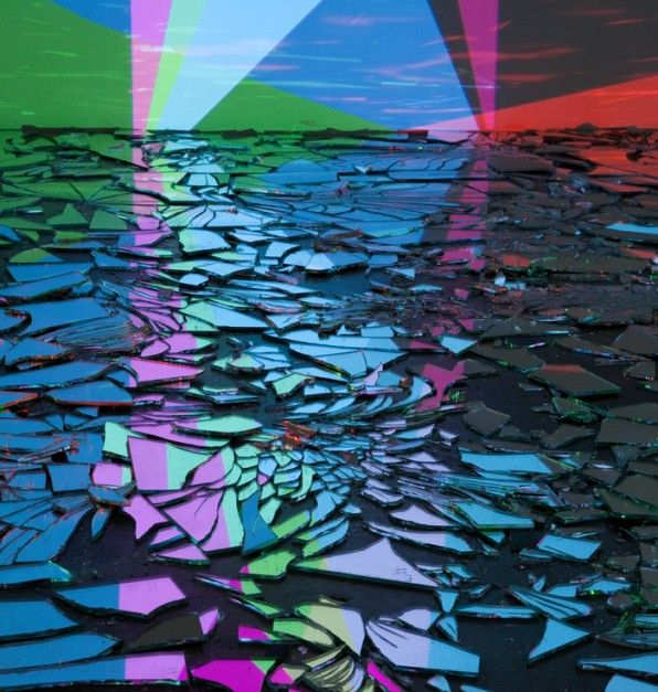 Rafaël Rozendaal, Falling Falling, Installation view. Steve Turner, 2012 PrevNext