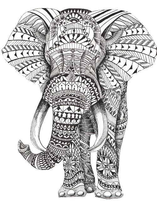 Transparent trip elefantes mandalas animales elefante, love mandala coloring pages