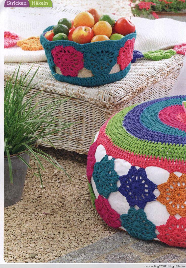 295 besten Household crochet items Bilder auf Pinterest | Teppich ...
