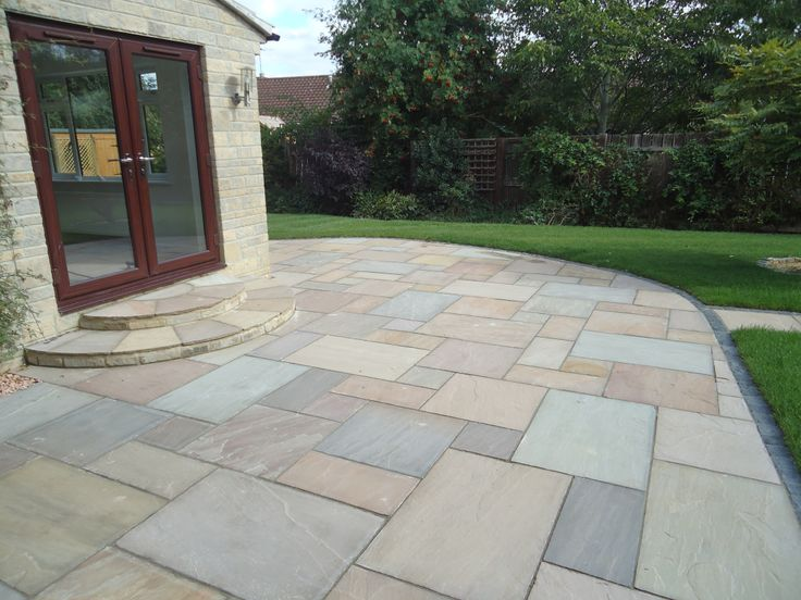 Charming Pavestone Raj Blend Sandstone Paving | Pave Stones And Patios | Pinterest |  Sandstone Paving, Gardens And Garden Ideas