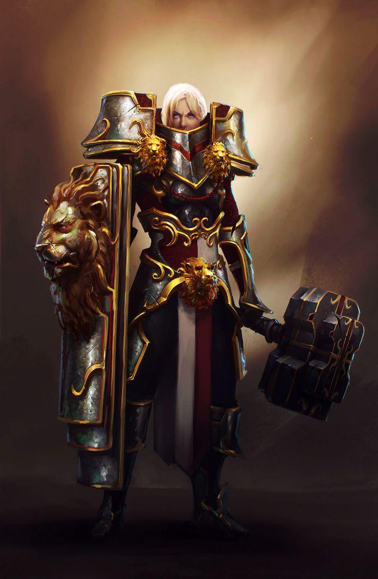Maxence Burgel - Crusader (Diablo III)