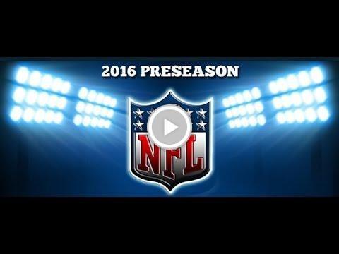 NFL 2016 Preseason Week 3 Predictions