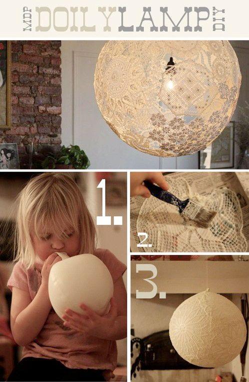 Det är det här man ska göra av farmors virkade historier... BOHO MARKET: Beautiful DIY Ideas