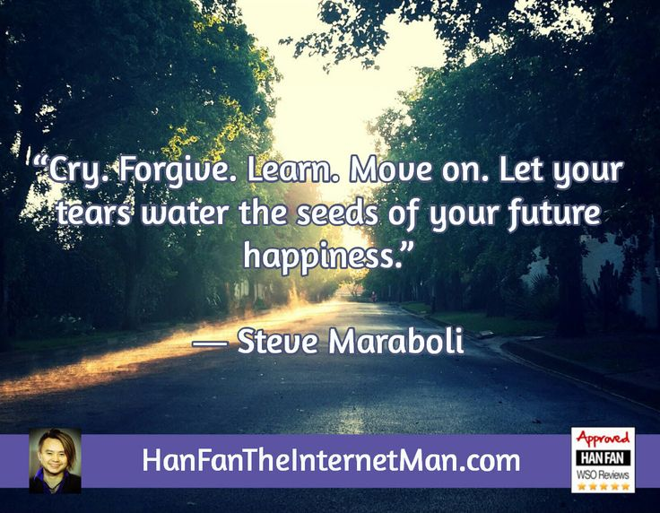 Cry forgive learn...  Sign Up For Your Daily Tips, Early Bird Special, Coupons & Bonus! HERE: http://hanfanapproved.com/hfslc/getYourEarlyBirdSpecialHERE/  Check Out Our New TV Channel: http://HanFanTheInternetManTV.com  Vimeo Us: https://vimeo.com/channels/hanfantheinternetman Friend Us: https://vimeo.com/hanfantheinternetman Like us: https://www.facebook.com/HanFanTheInternetMan Follow Us: https://twitter.com/HanFanTheMan Connect with us: https://www.linkedin.com/i