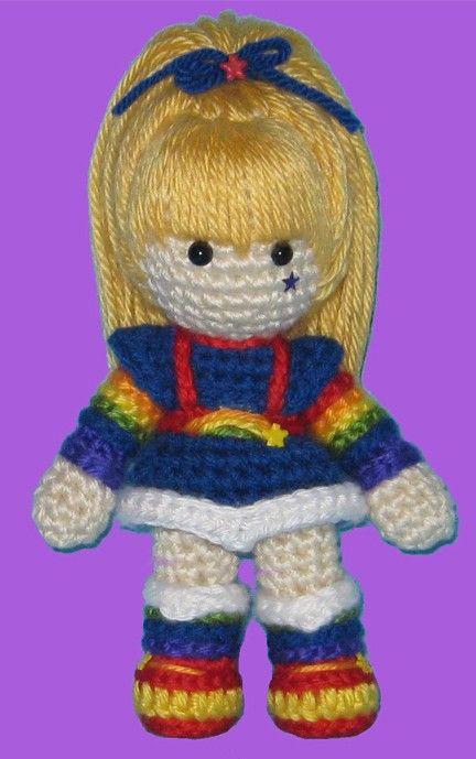 Rainbow Brite Amigurumi