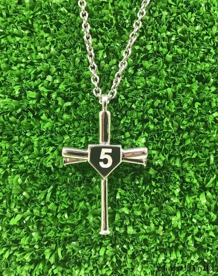 Baseball Cross with Custom Number