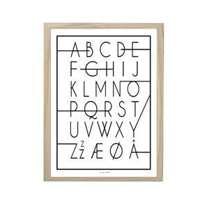 ABC Zzz - Ltd. Edition plakat - 50 x 70 cm