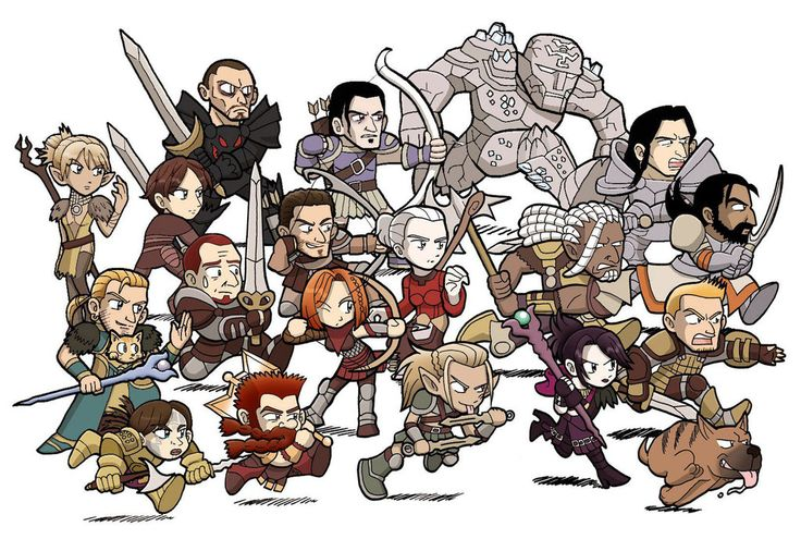 It's so adorable!!!//DRAGON AGE Origins Awakening by ~BlueLagoon4