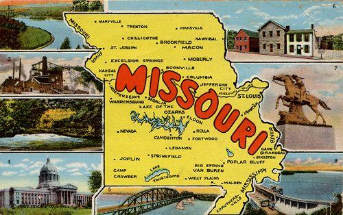 Missouri....St. Louis The Arch, The Zoo, BigFoot, Grant's Farm.