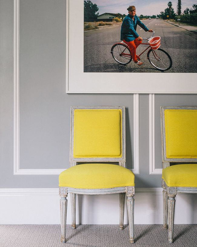 #Yellow Louis Chairs | Susan Greenleaf's Home