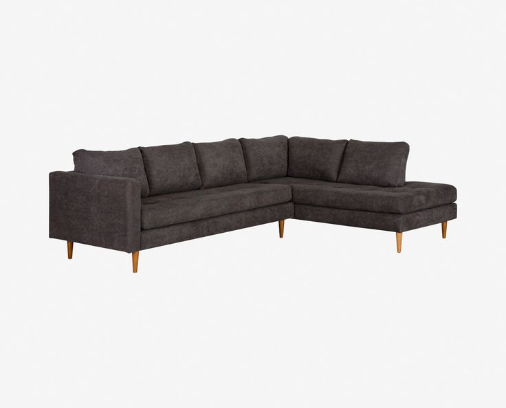 $1699   Scandinavian Designs   Flawless Craftsmanship And Tailored Details  Define The Colm Sectional. Tapered
