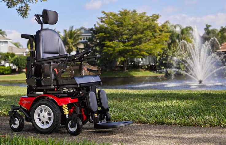 image of Vector Power Chair by Avid Rehab