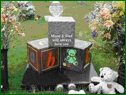 Personalized Stones - Custom Monuments - Child headstones- http://monuments-wholesale.com/personalized Infant grave markers