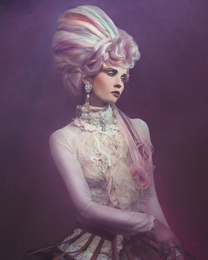 Hair Anne Veck Assisted by Aneta Kucinska and Jowita Przybylo Photography  Miss Aniela Make