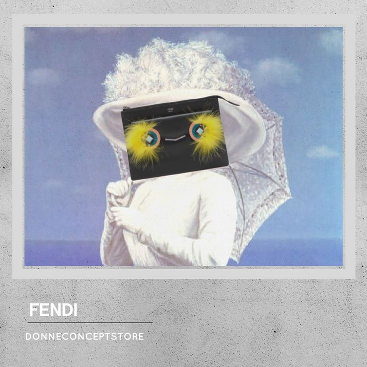 #Fendi #monster #black #crossbodybag #magritte #lagrandeguerra