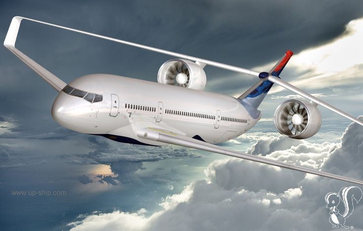 The 'Box Wing Jet' seeks to reduce fuel consumption