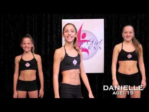 Power Girl Fitness - Kickboxing Fitness Workout for Girls - YouTube