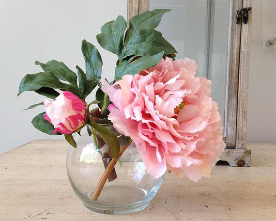 Hey, I found this really awesome Etsy listing at https://www.etsy.com/listing/244203023/silk-peony-arrangement-peony-bouquet