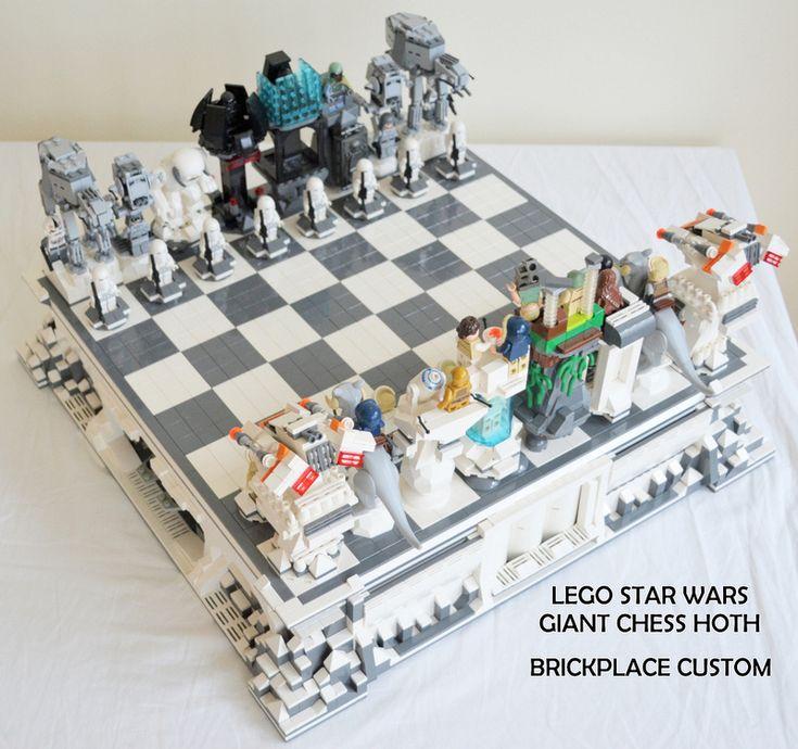 Giant STAR WARS Hoth LEGO ChessSet - News - GeekTyrant