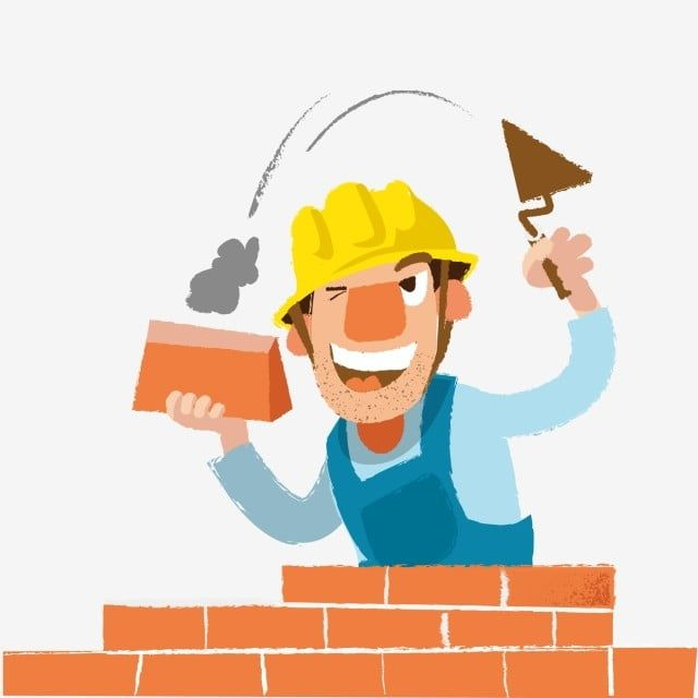 Cartoon Style Cute Style Construction Worker Cartoon Construction Worker Construction Worker Clipart Cute Construction Worker Smiling Worker Png And Vector W Cartoon Styles Cartoon Cartoons Vector