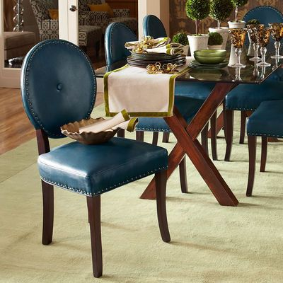 Cadence Teal Dining Chair Chairs Teal Blue And Dining