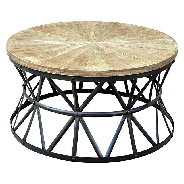 Phil Bee Interiors Rolling Round Coffee Table