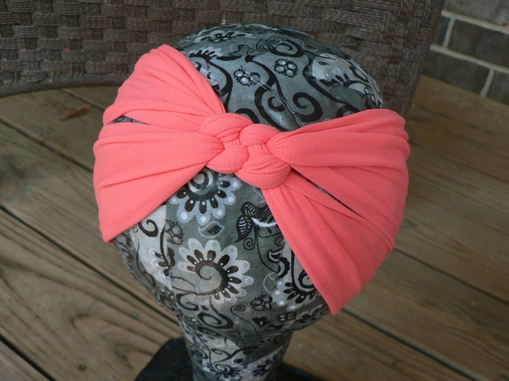 Women's Knotted Headband Buffs in Assorted by thetangledknot on Etsy