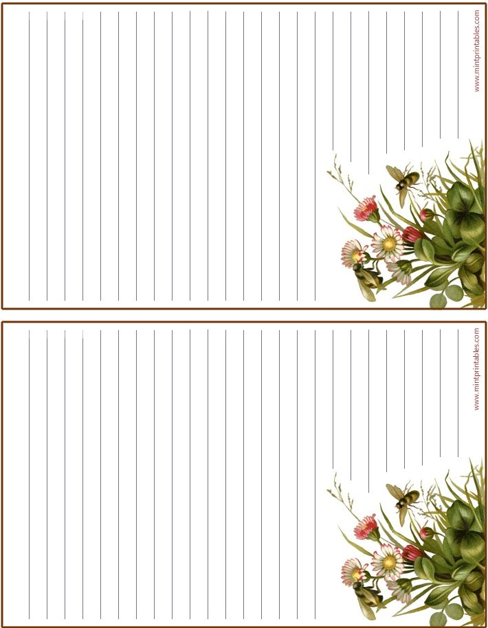 Printable stationary...FREE!                                                                                                                                                                                 More