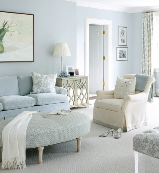 Classic Chic Home: My Obsession with Beautiful Blue Rooms