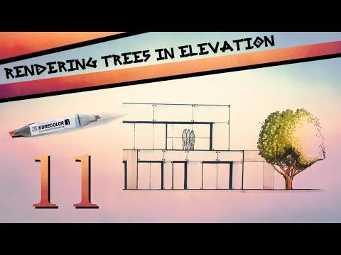 Rendering Trees In Elevation - YouTube