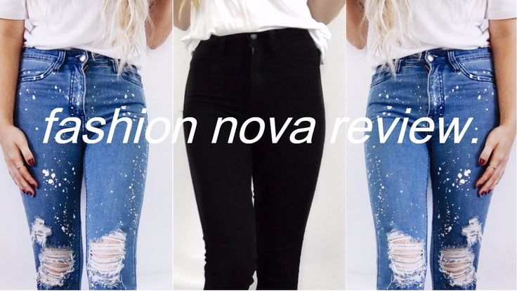 FASHION NOVA JEANS TRY ON HAUL REVIEW | Instagram hyped clothing