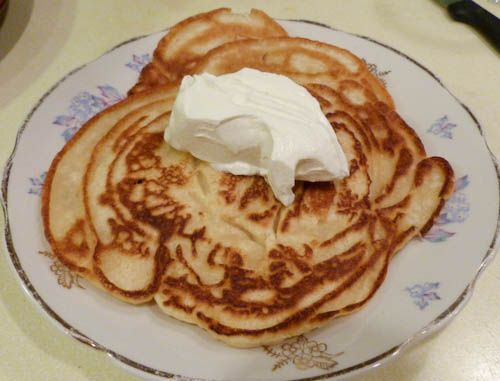 Oladi – Russian Buttermilk Pancakes – Everyday Russian Food