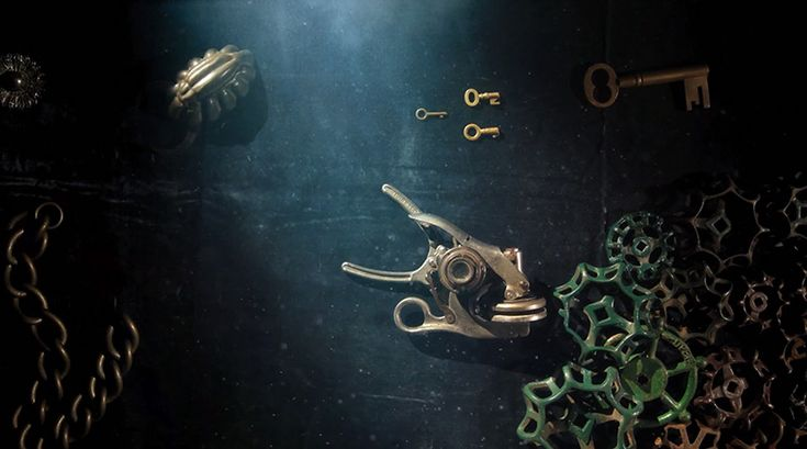The Deep: Animator PES Creates a Murky Underwater World with Metallic Tools stop motion ocean animation